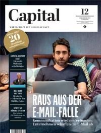 """Cover der Zeitschrift Capital mit dem Aufmacher """"Raus aus der E-Mail-Falle"""""""