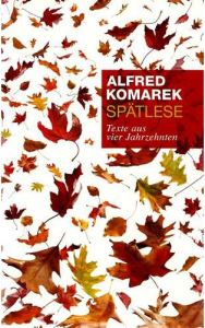 Alfred Komarek: Spätlese (Buchcover)