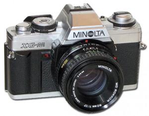 Minolta XGM, analoge Spiegelreflexkamera