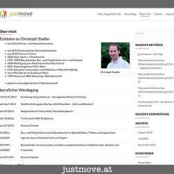 Screendump www.justmove.at aus 2016