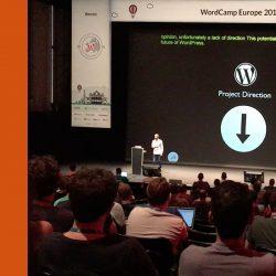Projektrichtung auf WordCamp Europe 2016 Vienna